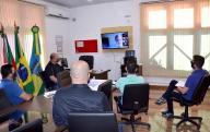 Videoconferência com o Núcleo Ambiental MPF