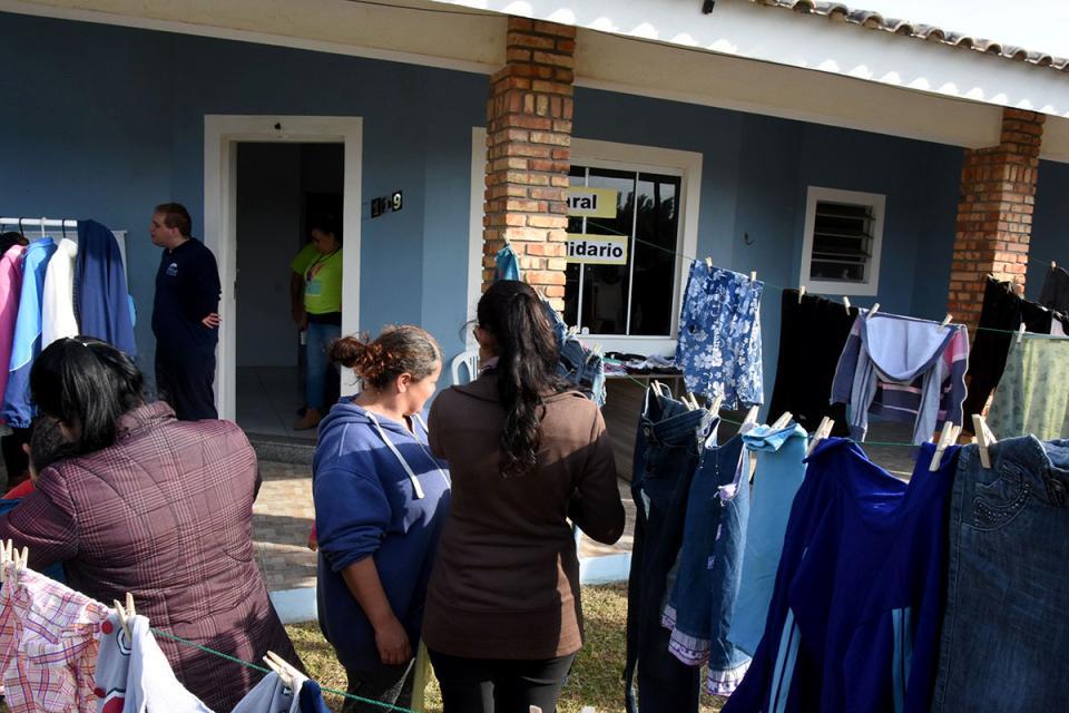 SMDS faz ação comunitária com famílias cadastradas no PIM