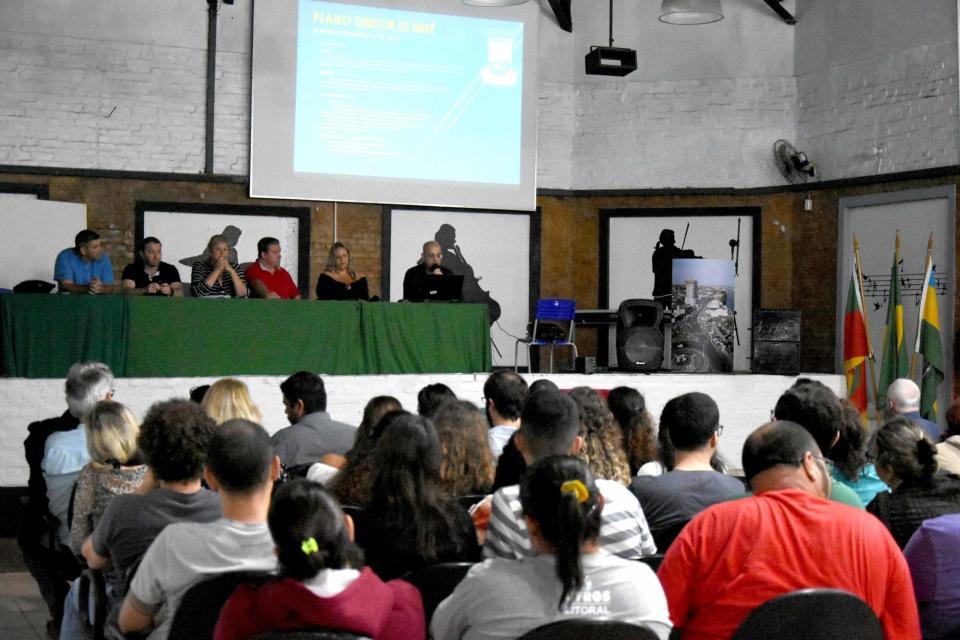 Audiência Pública trata da revisão do Plano Diretor de Imbé