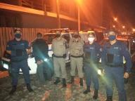Brigada Militar e Guarda Municipal fizeram ação conjunta