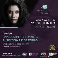 Empoderamento Feminino é tema de palestra