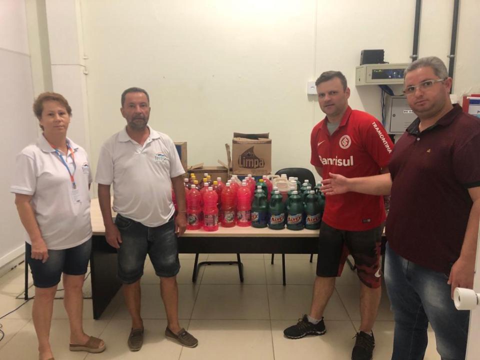 Saúde: SETUR recebe doações do Consulado do Internacional em Imbé