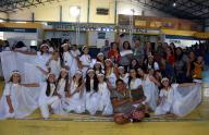 Atividade reuniu escolas no Ginásio Engº Floreal Sala