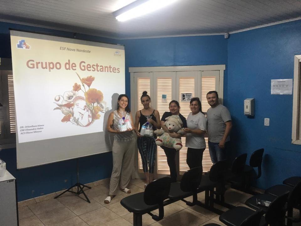ESF Nova Nordeste inicia Grupo de Gestantes