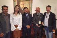Delegado Ractz recebeu homenagem em Porto Alegre