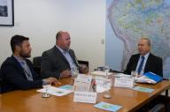 Vice-prefeito esteve em Brasília na última semana