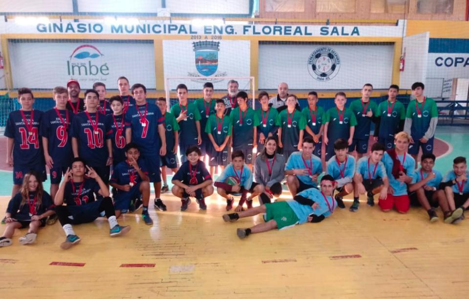 15º JIMI: EMEF Santa Catarina vence vôlei Infantil Masculino
