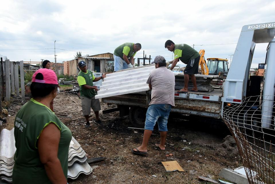 SMDS faz plantão para recebimento de doações para famílias atingidas por incêndio