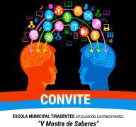 EMEF Tiradentes promove V Mostra de Saberes