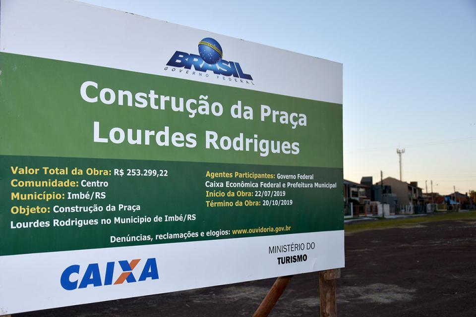 Prefeitura inicia na próxima semana construção de nova praça Lourdes Rodrigues