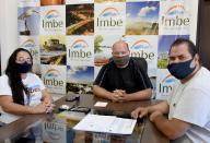 Prefeito Ique recebeu o ex-vereador Rafael Kerber