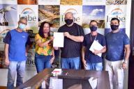 Governo recebeu diretoria da Associação Artiluz