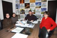 Direção da EEEM Reinaldo Vaccari se reúne com prefeito