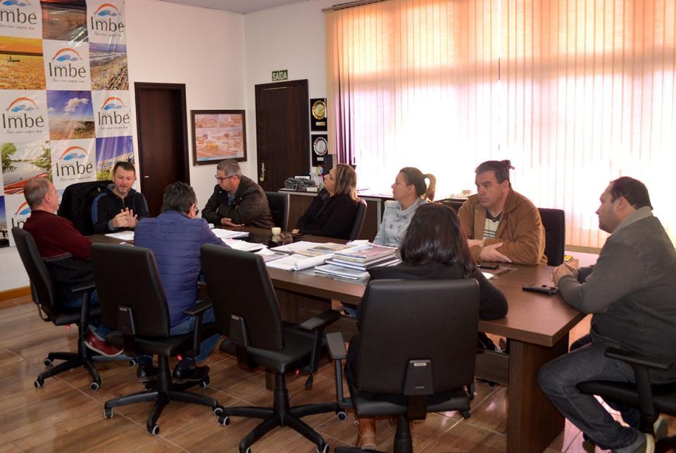 Prefeitura de Imbé e IBGE se reúnem para planejar Censo 2020