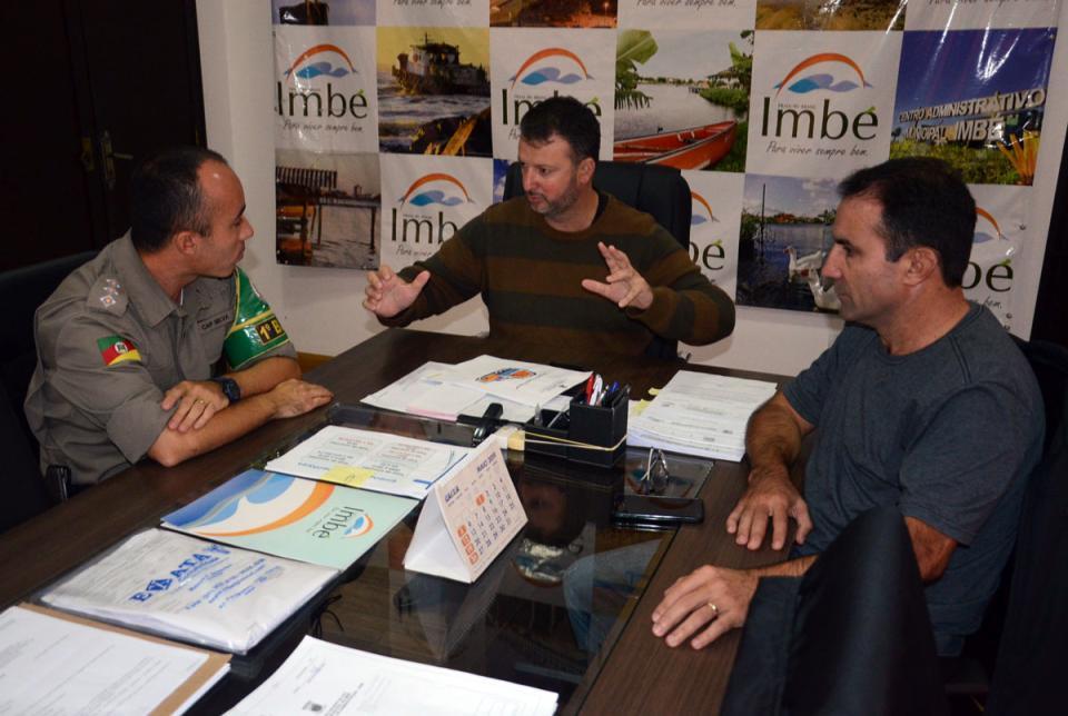 Município e Patram ajustam ações em reunião