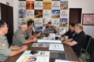 Novo comando do 2° BPAT visitou a Prefeitura