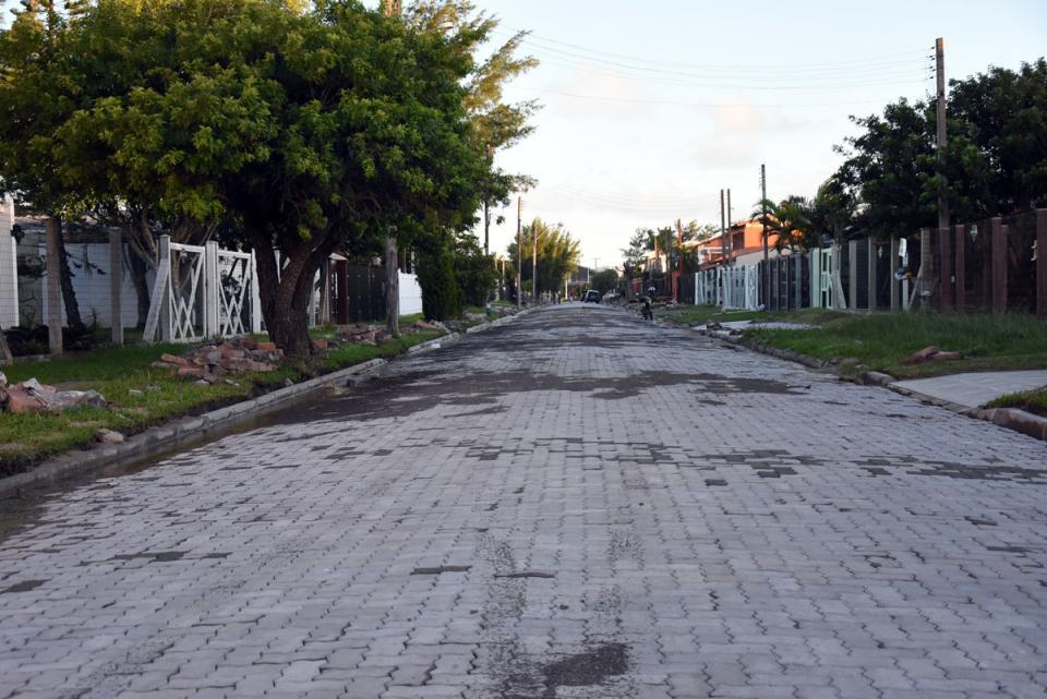 Prefeitura faz novas pavimentações com blocos intertravados