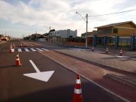 Reforço na sinalização da Av. Beira Mar