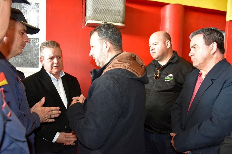 Pierre propõe Centro de Segurança Pública Integrado em Imbé ao Governo do Estado