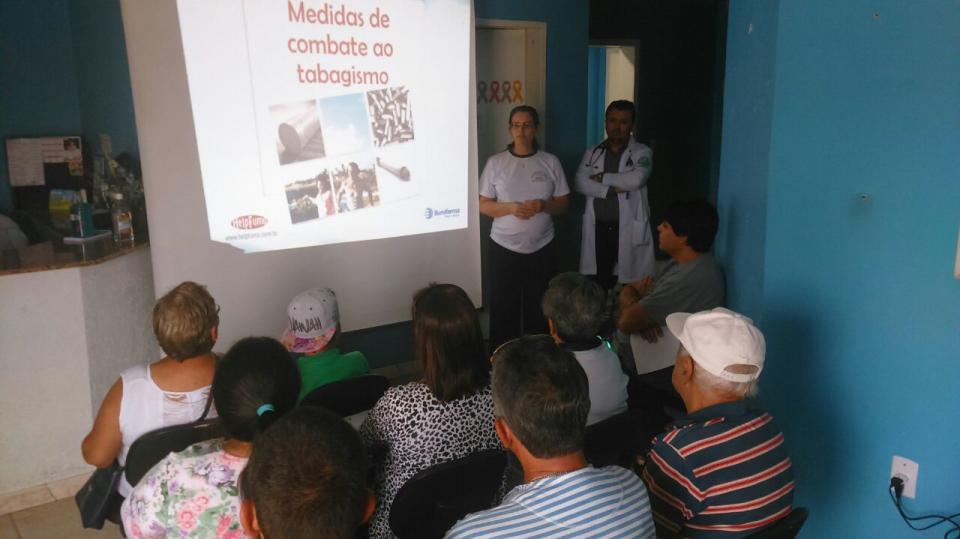 ESF Nova Nordeste lança grupo contra tabagismo