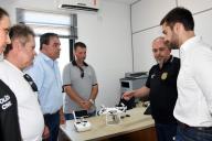 Visita governador Eduardo Leite